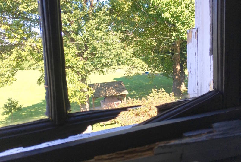 Repairing old windows tops the list of needs for the Old St. Ferdinand Shrine.