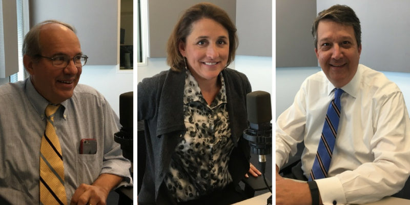 Bill Freivogel, Jane Dueker and Mark Smith were part of St. Louis on the Air's October Legal Roundtable discussion.