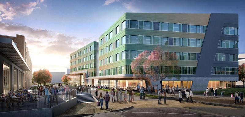 The development will create 20,000 square feet of street-level retail.