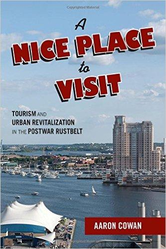 """A Nice Place to Visit"" by Aaron Cowan, book cover"