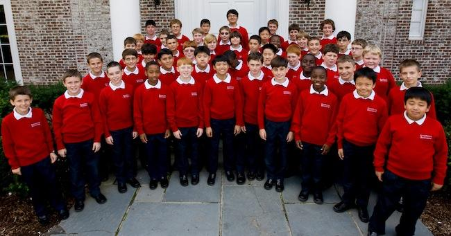 The American Boychoir, pictured, will perform in St. Louis on Oct. 28, 2016.
