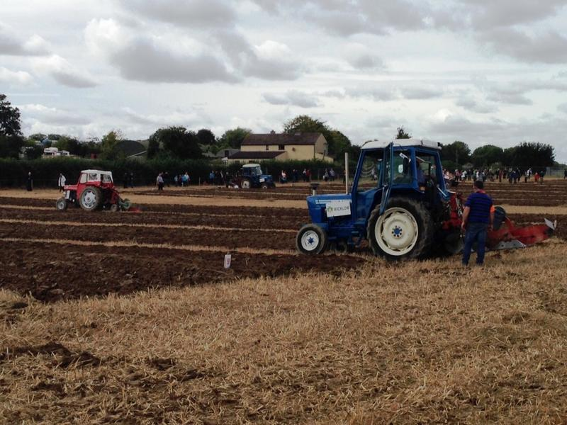 The National Ploughing Championships began in 1931. While there are still lots of tractors, it's also the largest ag showcase in Europe with 300,000 visitors and a big ag tech presence.