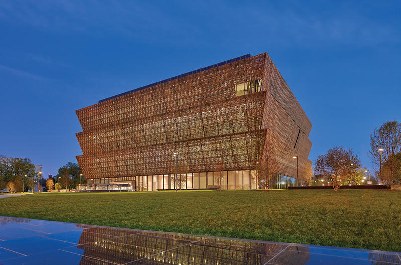 The Smithsonian's National Museum of African American History and Culture opened on September 24, 2016.