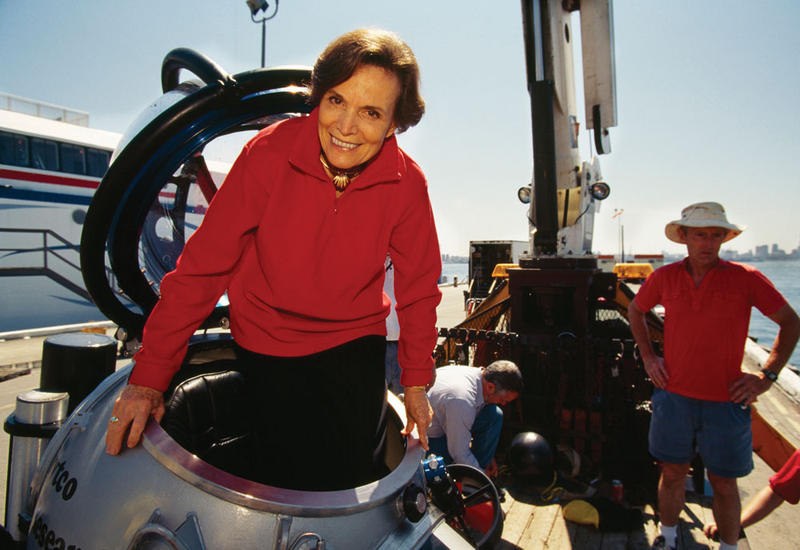 Oceanographer Sylvia Earle will recieve the World Ecology Award from the University of Missouri-St. Louis' Whitney R. Harris World Ecology Center on Oct. 16.
