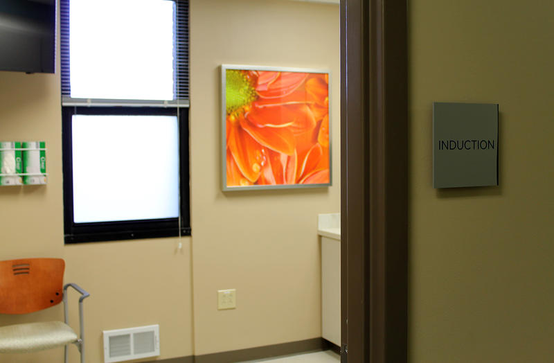 An induction room at SSM Health's new WISH Center.