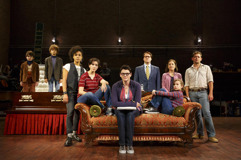 "The touring cast of ""Fun Home."" The musical won 5 Tony Awards in 2015."