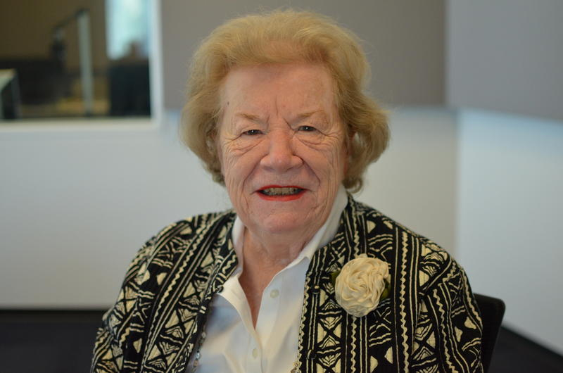 Blanche M. Touhill served as the Chancellor of UMSL for 12 years.