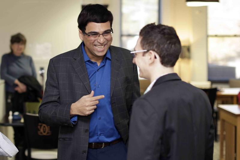 Viswanathan Anand captured the Champions Showdown crown in St. Louis.