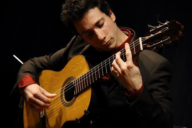Grisha Goryachev hails from St. Petersburg, Russia. He's a flamenco guitar virtuoso who draws inspiration from his classical guitar roots.