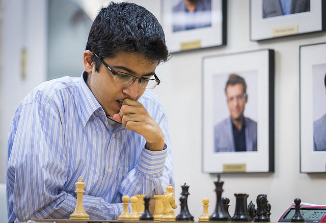 Akshat Chandra is shown at the Junior Closed tournament.