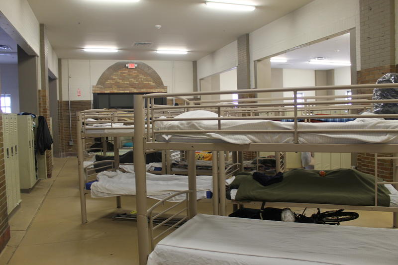 The Biddle facility acts as an overnight emergency shelter. 11/29