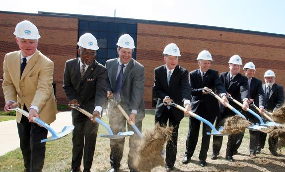 August 22, 2007 Pfizer groundbreaking in Chesterfield.