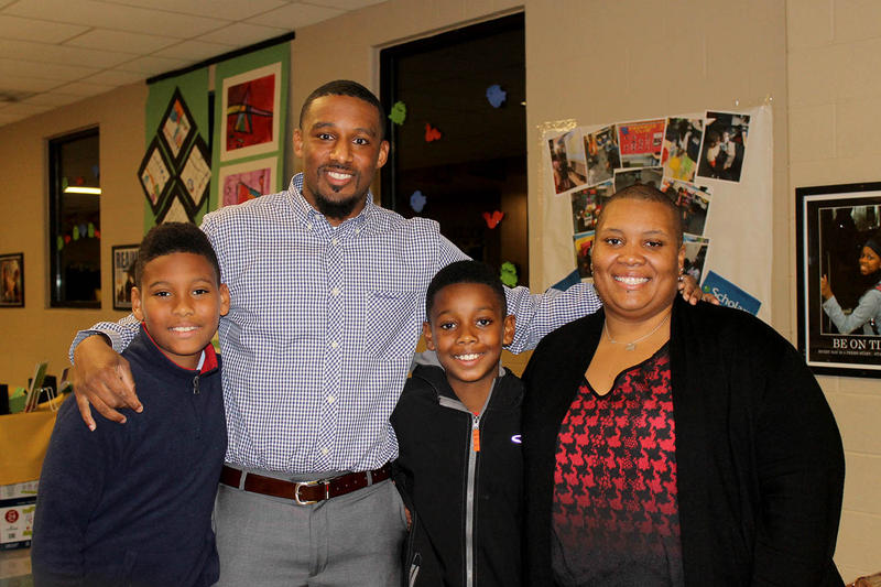 Chaz and Shernette Brown enrolled their sons Dalen and Jalen at Riverview Gardens three years ago when they moved from the Hazelwood School District. The Browns said Nov. 14, 2016 that the district deserved accreditation.