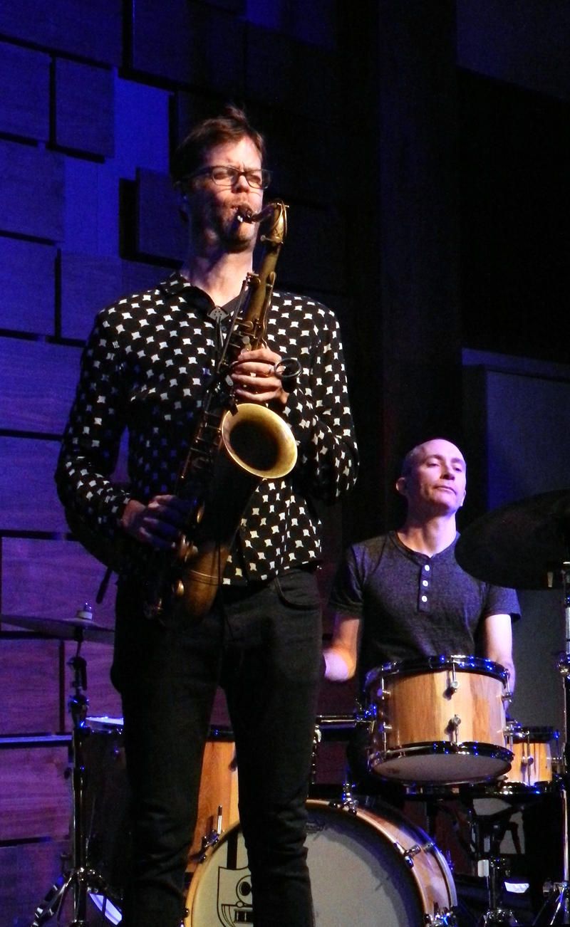 Donny McCaslin (ts) Nate Wood (d)-2016