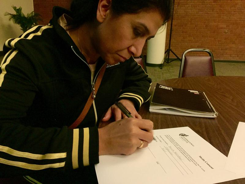 Kamila Kahistani cast her first vote as an American citizen in 2016's November election.