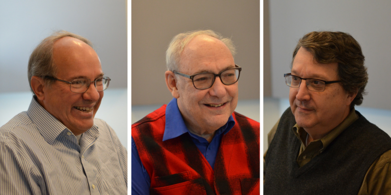 Bill Freivogel, Mike Wolff and Mark Smith joined Legal Roundtable in December.