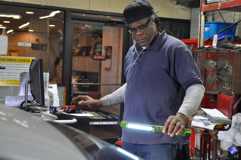 Tony Twitty, 55, founded his auto shop in 1999. Before the Affordable Care Act,it was hard for him to buy health insurance on his own.