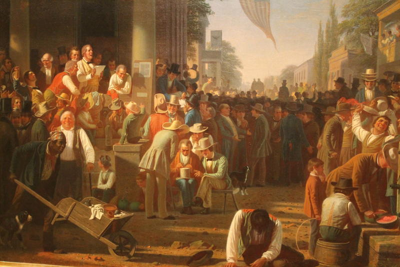 George Caleb Bingham's 'Verdict of the People'