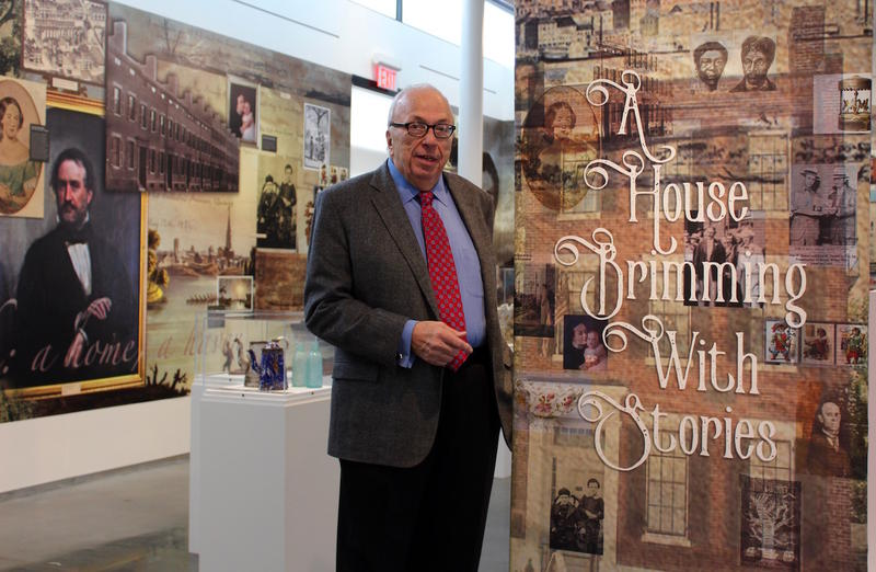 Field House Museum trustee Ron Elz believes the new exhibit space will boost attendance. December 2016