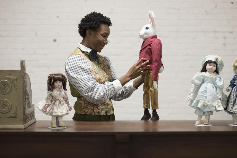 "A promotional image from Metro Theater's production of ""The Miraculous Journey of Edward Tulane."""