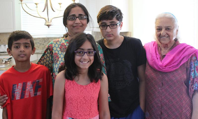 Tanya Raja, with her family, of Wildwood, talks about observing Ramadan
