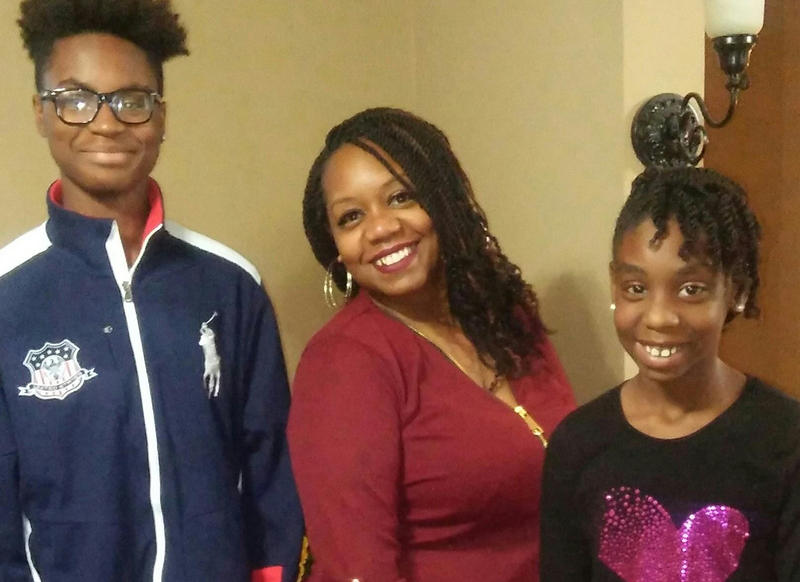 Shammara Smith's son Ahmon is a sophomore at Oakville High. Her daughter Ahmiya is in fifth grade at Blaze Elementary in the Mehlville school district.