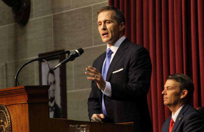Missouri Gov. Eric Greitens delivers his first State of the State address last week in Jefferson City.