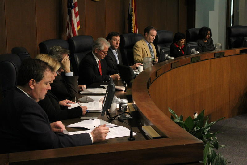 The St. Louis County Council met for the first time this year on Tuesday.