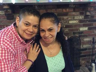 "Daisy Duarte and her mother, Sonia. The two appear in an upcoming PBS documentary, ""Alzheimer's: Every Minute Counts."""