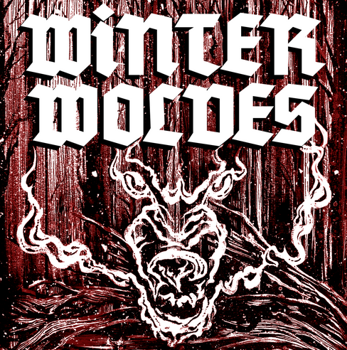 Detail from Winter Wolves concert poster designed by Lauren Gornik