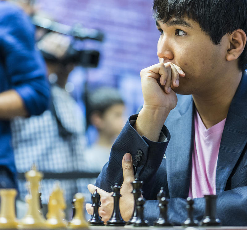 Grand Master Wesley So who is a member of the Saint Louis Arch Bishops team