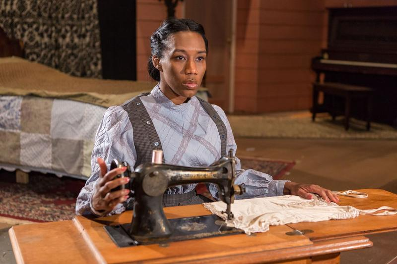 "Jacqueline Thompson plays the role of Esther in New Jewish Theatre's ""Intimate Apparel.""  She appears in this file photo."