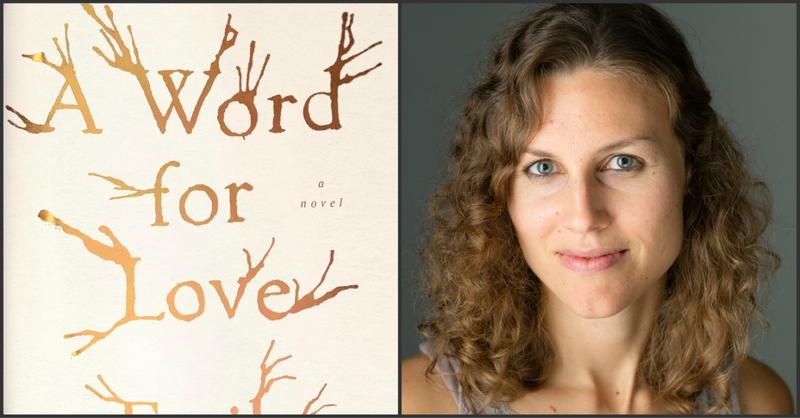 "This collage of file photos shows the ""Words for Love"" book cover and author Emily Robbins."