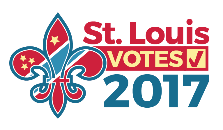 Logo for 2017 St. Louis election coverage