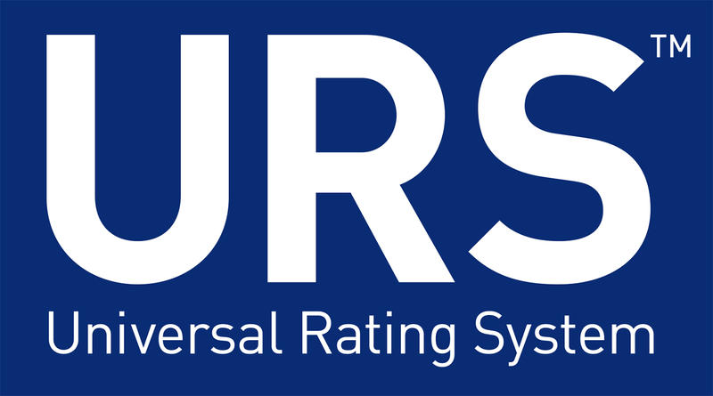 The logo for the new Universal Rating System.