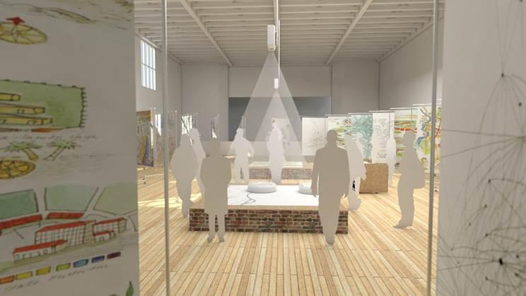 Redrawing boundaries real and imagined with digital artist jer a mock up of the st louis map room a collaborative projec that solutioingenieria Image collections