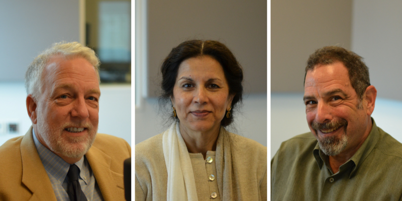 David Greenhaw, Ghazala Hayat and Mont Levy joined
