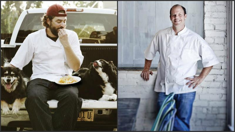 Kevin Willmann of Farmhaus, left, and Kevin Nashan of Sidney Street, seen in these file photos, are James Beard Award finalists for the second year in row