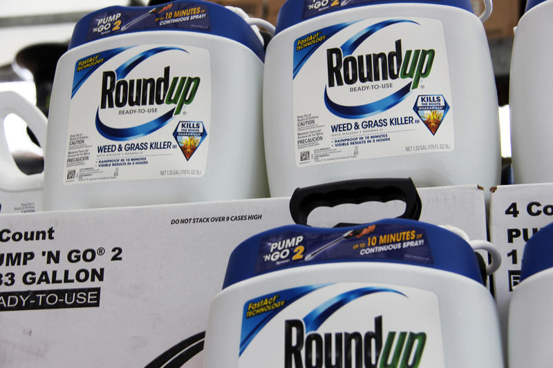 Monsanto's widely-used weed killer Roundup contains glyphosate, a chemical that's been the subject of multiple lawsuits that allege that it's linked to cancer.