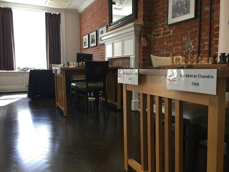 The Winter Chess Classic Tournament Hall, located on the second floor of the Chess Club and Scholastic Center March 2017