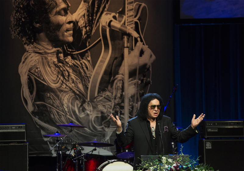 Gene Simmons pays tribute to Chuck Berry.