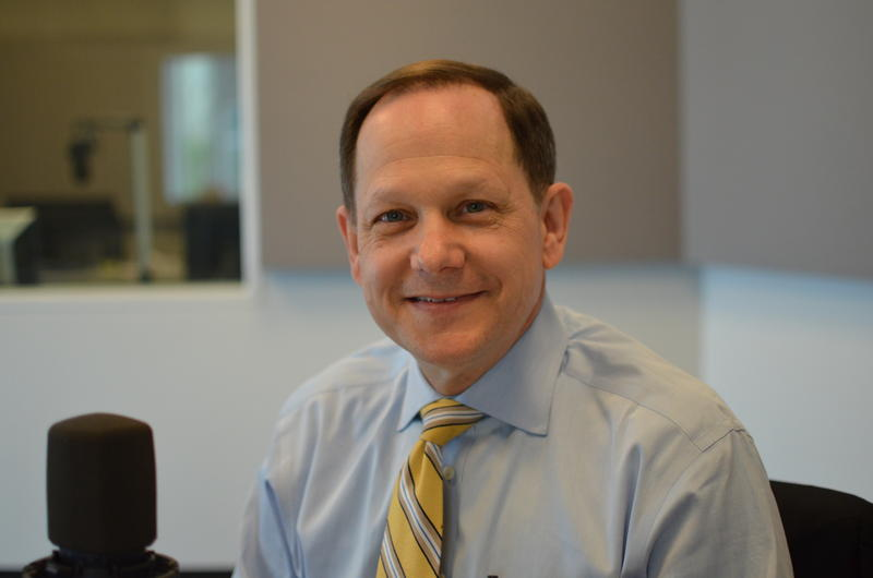 St. Louis Mayor Francis Slay, photographed on April 4, 2017 in St. Louis Public Radio's studios, one week before leaving office as St. Louis' longest-serving mayor.