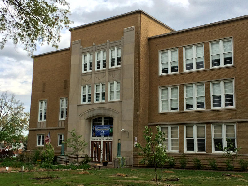 Mallinckrodt Academy for Gifted Instruction on Hampton Ave. in south St. Louis fished tranistioning into a gifted elementary in the 2015-2016 school year.