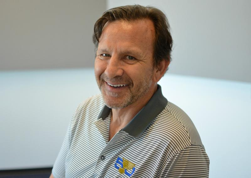 St. Louis Blues President and CEO Chris Zimmerman, photographed at St. Louis Public Radio's studios on April 24, 2017.
