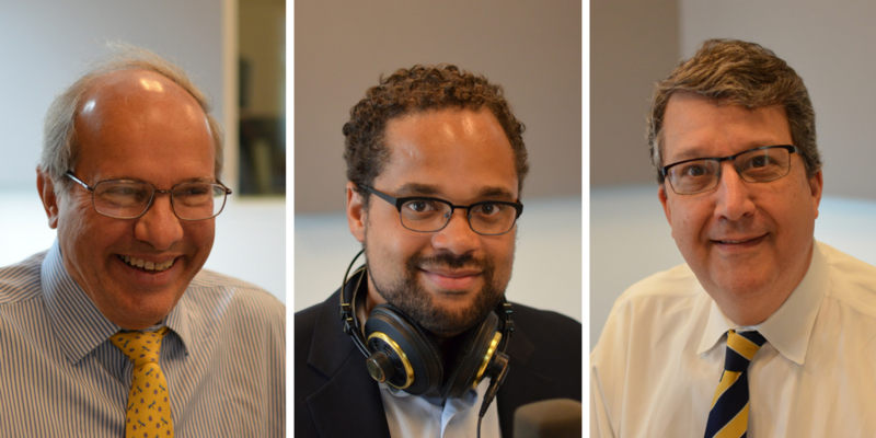 Bill Freivogel, Jared Boyd and Mark Smith shared their perspectives on the month's legal news on St. Louis on the Air.