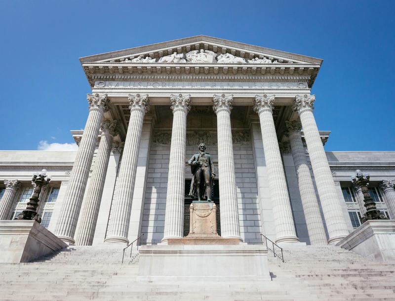 The Missouri Capitol in Jefferson City, 2014