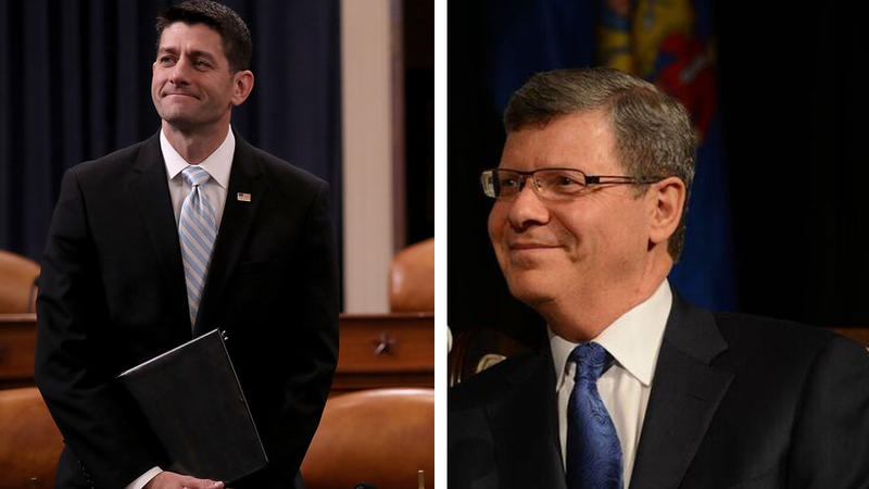 Paul Ryan and Charlie Sykes
