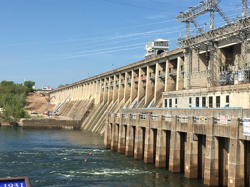 The Bagnell Dam at Lake of the Ozarks