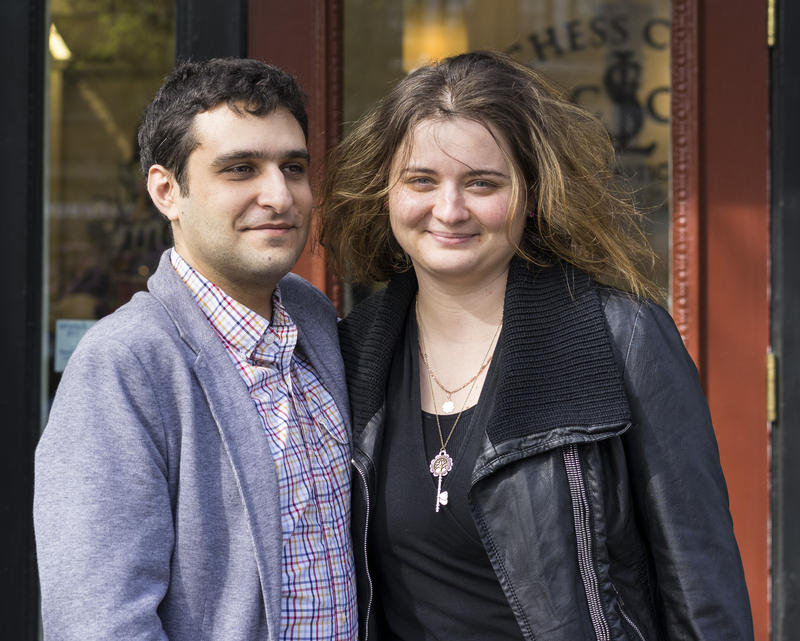 Elshan Moradiabadi and Sabina Foisor