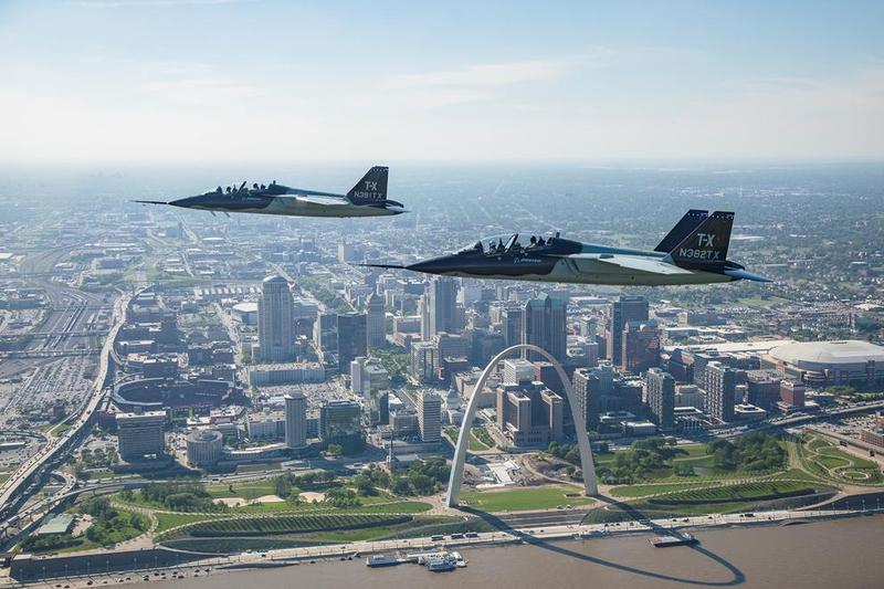 Boeing's T-X could mean 1,800 direct and in-direct jobs in St. Louis, should the Air Force award the contract to the company. May 2017